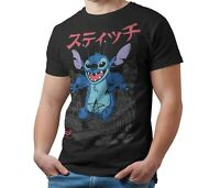 Disney Stitch T-Shirt Kaiju Japanese Monster Unisex Tee Shirt Adult & Kids