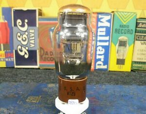 Unique: 1 x RCA 10Y - VT25 Black mono Plate DHT Power Triode New Tube