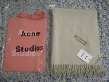 Acne Studios white Canada Scarf Oversize 200×70cm New With Tags 100% Wool (Wide)