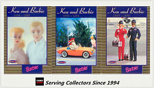 1996 Australia Tempo 36 Years Of Barbie Trading Cards Ken&Barbie card Subset(3)