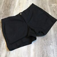 Banana Republic Hampton Fit Black Chino Shorts, Size 6