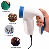 Portable Electric Clothes Lint Fuzz Shaver Pill Fluff Remover Fabrics Sweaters