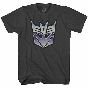 Transformers Decepticons Distressed Symbol Officially Licensed Adult T-Shirt