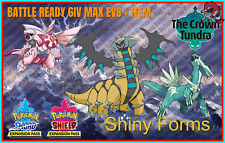 GIRATINA DIALGA PALKIA PACK✨Shiny✨BR 6IV Pokemon Sword Shield Home