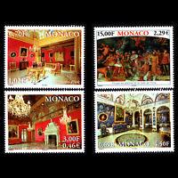 Monaco 2001 - Royal Palace - Sc 2216/9 MNH