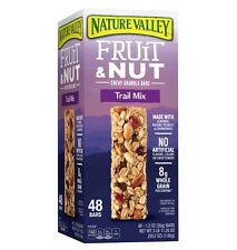 F42501-Nature Valley Chewy Granola Bars, Fruit & Nut, 1.2 oz, 48 ct