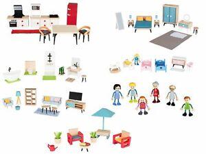 Playtive Junior Puppenset/Puppenhaus-Möbelset Miniaturmöbel