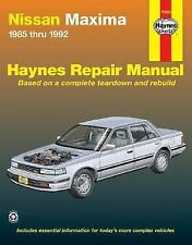 Nissan Maxima 1985-1992 Haynes Repair Manual 1985-92
