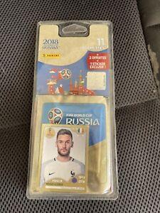 Panini 1 Blister Neuf Russia 2018  11 Pochettes + 1 Stickers Offert