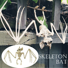 Creepy Skeleton Bat Bones Halloween Decor Scene Party Scary Decoration Props