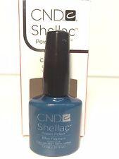 Creative CND Nail Shellac ~ BLUE RAPTURE  ~ Soak Off Gel Polish .25 oz