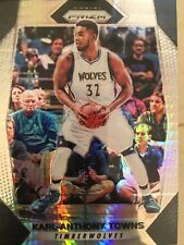 2017-18 Panini Prizm KARL-ANTHONY TOWNS #82 HYPER Refractor