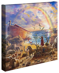 Zac Kinkade Noahs Ark 14 x 14 Gallery Wrapped Canvas