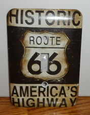Route 66 Switchplate Cover. Americas Highway.Free Shipping