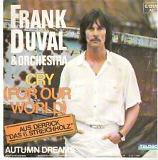 """<2068> 7"""" Single: Frank Duval - Cry (For Our World) / Autumn Dreams"""