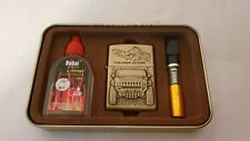 OLD  STYLE GAS LIGHTER..SET OF ACCESSORIES
