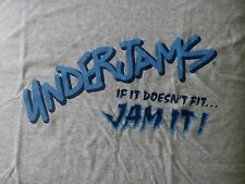 VTG 90s UNDERJAMS IF IT DOES NOT FIT JAM IT GRAPHIC FRUIT OF THE LOOM T-SHIRT-XL