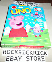 PEPPA PIG - UNO CARDS (BRAND NEW)
