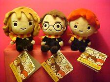 Harry Potter three  5 inch beanie plush Hermione Granger Ron Weasley