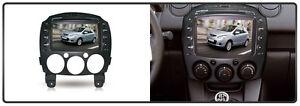 In Dash  Car Head Unit DAB GPS Ipod MP3 CD DVD . For Mazda 2 2007-2013