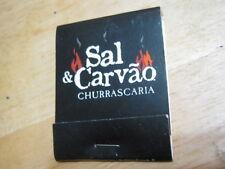 Vintage Sal & Caravao Churrrascaria Schaumburg IL matchbook