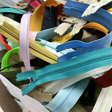 Ykk SALE 3+ Pounds of Assorted Zippers-Metal/Plastic/Coil/Invisible Zippers