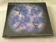 ENSLAVED - Monumension LTD ED SLIPCASE CD BRAND NEW & SEALED! (Original Press)