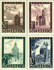 EBS Austria 1947 - Airmail selection - Flugpost - ANK 820-822/826 MNH**