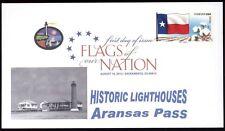 Flags of our Nation - Texas (Sc. 4323) Aransas Pass Lighthouse
