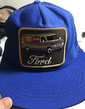 Vintage Ford Truck Keystone Trucker SnapBack Mesh Hat Van Patch  USA