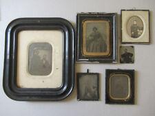 Lot 5 Photos 4 Ambrotypes 1 Papier Salé 1850/60