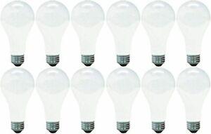 GE Lighting 11585 Soft White 200-Watt A21 Light Bulb with Medium Base 12-Pack