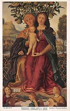 B95000 g dal libri madonna child and s anne london uk painting postcard  art