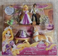 New Disney 6 Piece Rapunzel's Wedding Party/Tangled Figure Play set Cake Topper