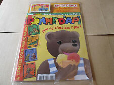 pomme d'api  438 .   pochette le  jeu des familles ours brun .....neuf