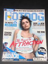 HOTDOG magazine #34, 2003, Shannyn Sossamon, Edward Norton, The Matrix, RARE