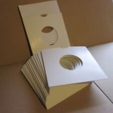"50 White CARD Sleeves (ideal) TOP QUALITY CARD SLEEVES our 7"" papers fit inside"