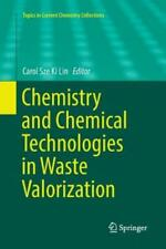 Chemistry and Chemical Technologies in Waste Valorization