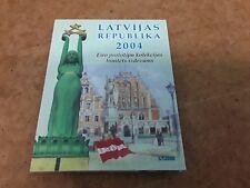 More details for latvijas 2004 euro  pattern coin set - free uk p&p