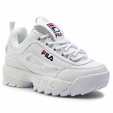 1010567 Disruptor KIDS WHITE scarpa FILA bambino scarpe scarpette shoes junior