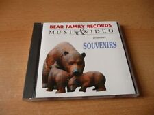 CD Bear Family Records Souvenirs Conny & Peter Dalida Bibi Johns Connie Francis