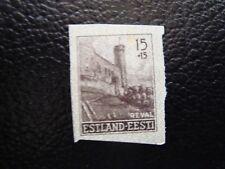 ESTONIE (occupation allemande) - timbre y&t n° 4 neuf (tout etat) (COL3) (Z)
