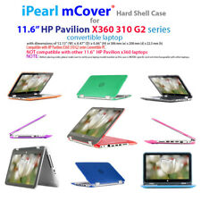 "NEW CLEAR mCover® HARD CASE for 11.6"" HP Pavilion X360 310 G2 series Laptop"