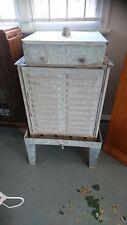 Early Coolgardie safe fridge galvanised iron Australiana Australian history