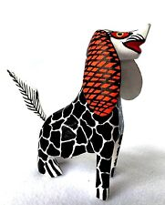 Adorable DALMATION DOG Alebrije Hand Carved Folk Art Oaxaca Mexico