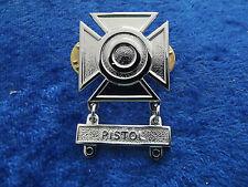 ^ (a30-12) US schiessabzeichen Sharpshooter CROMO Pistol