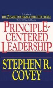 Principle-Centered Leadership by Stephen R. Covey (2011, CD, Abridged)