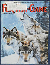 Magazine *Fur-Fish-Game* JANUARY, 1999 *Very Good Conditions* !!FREE SHIPPING!!
