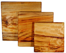 Chopping Board - Camphor Laurel 250mm x 250mm medium large square cutting block