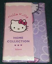 "NEW Sanrio Hello Kitty Decorative Window Valance/Curtain--Lavender--80"" x 13"""